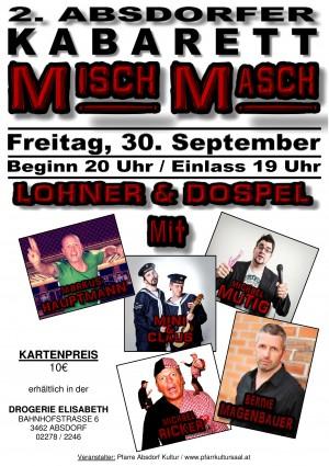 2. Absdorfer Kabarett MISCH MASCH
