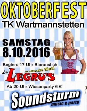 Oktoberfest in Wartmannstetten