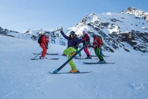 KÄSTLE Powder Department Ladies Days  am Stubaier Gletscher 27.-29. Jänner 2017
