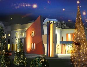 Eröffnung der traditionellen Weihnachtsausstellung im IDEA-Shop