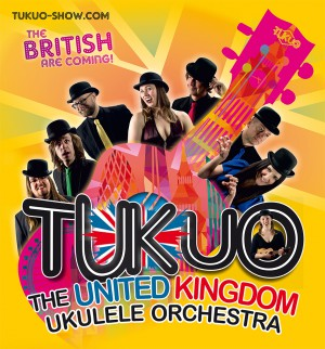 """THE UNITED KINGDOM UKULELE ORCHESTRA (TUKUO) - """"THE BRITISH ARE COMING"""" Tour 2017"""