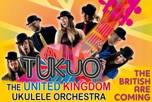 """TUKUO - THE UNITED KINGDOM UKULELE ORCHESTRA - """"THE BRITISH ARE COMING"""" Tour 2017"""