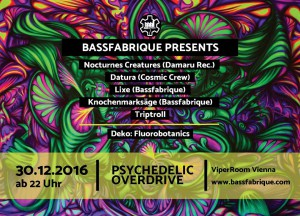 Bassfabrique---> PsYchEdEliC OvErDrIvE with Nocturnes Creatures live