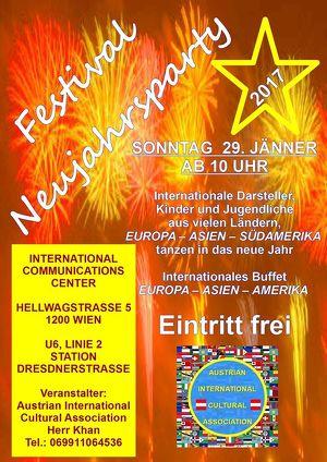 FESTIVAL NEUJAHRS PARTY