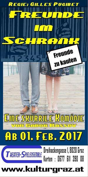 """Komödie: """"Freunde im Schrank"""""""