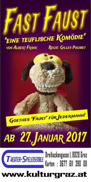 "Komödie: ""Fast Faust"" Schultermin"
