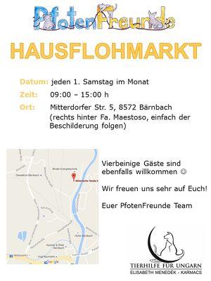 Hausflohmarkt der PfotenFreunde Voitsberg