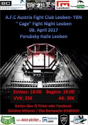 A.F.C Cage Fight Night Leoben - YBN