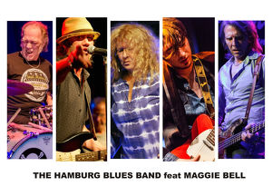 The HAMBURG BLUES BAND feat. Maggie Bell, Clem Clempson & Krissy Matthews