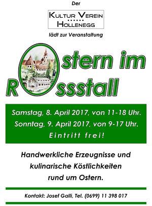 Ostern im Rossstall Hollenegg