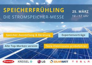 SPEICHERFRÜHLING - Die Stromspeicher-Messe