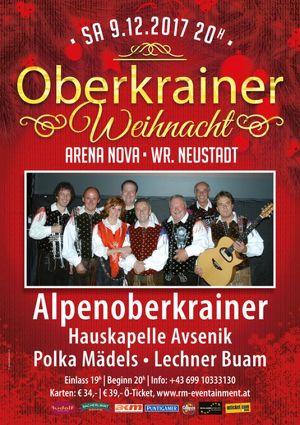 DAS OBERKRAINER-WEIHNACHTSKONZERT   09. DEZ. 2017