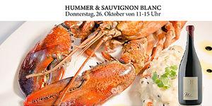 Hummer & Sauvignon Blanc in der Vinofaktur