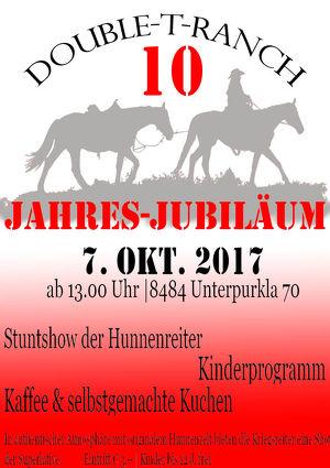 10 - Jahresjubiläum der Double-T-Ranch Austria