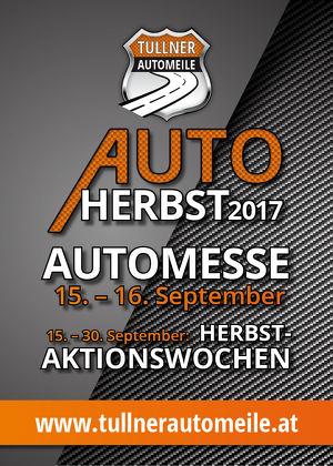 Herbst-Aktionswochen des Tullner Autoherbst 2017