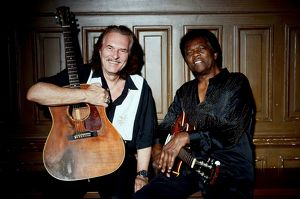 Hans Theessink & Terry Evans - TRUE AND BLUE TOUR