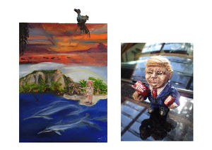 "Die Galerie Sandpeck Wien 8 zeigt ""Life in Colours & Figures"""