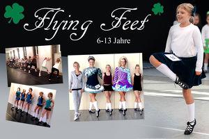 Flying Feet * Irish Dance für Kids (6-13 Jahre) * Schnupperstunde