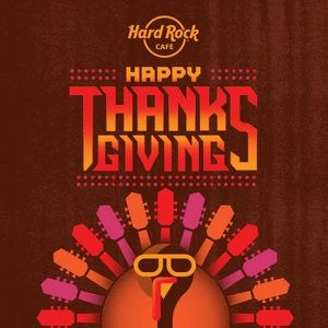 Thanksgiving feiern im Hard Rock Cafe Vienna