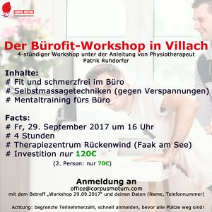 Der Bürofit-Workshop in Villach