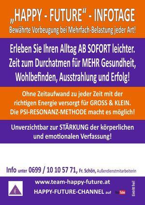 """""""HAPPY-FUTURE"""" Infotage: Alltag leichter gemacht für Mensch & Tier!"""