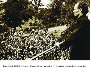 """Dokumentarfilm: """"Das Phänomen Bruno Gröning"""" – die Sensation von 1949 - heute wieder hochaktuell."""