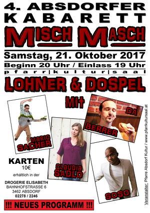 4. Absdorfer Kabarett MISCH MASCH