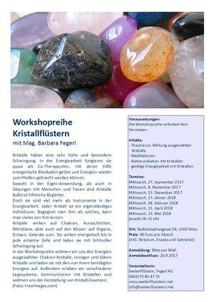 Kristallflüstern Workshopreihe