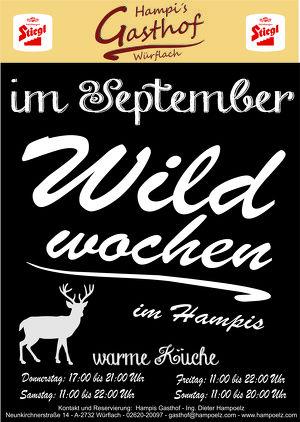 Wildwochen im Hampis