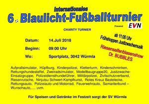6.BLAULICHT-FUSSBALLTURNIER international