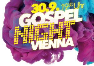 GOSPEL NIGHT VIENNA mit Claes Wegener (DK)