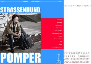Die Galerie Sandpeck Wien 8 präsentiert Harald Pomper
