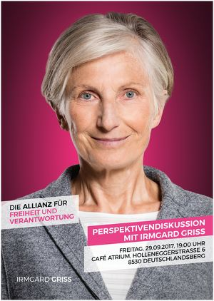 Perspektivendiskussion mit Irmgard Griss