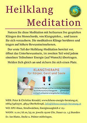 Heilklang Meditation