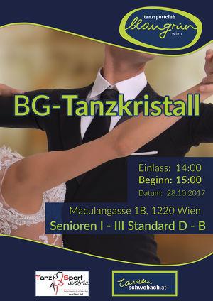 Tanzkristall 2017 - Ein Tanzturnier für Tänzer ab 30