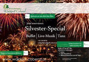Silvesterparty mit Live-Musik & Aussicht auf Wien!