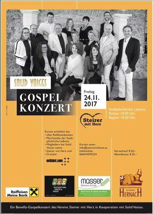 """Gospelkonzert mit """"Solid Voices"""" in Leibnitz"""