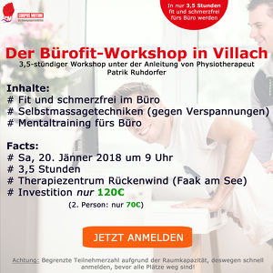 Bürofit-Workshop in Villach