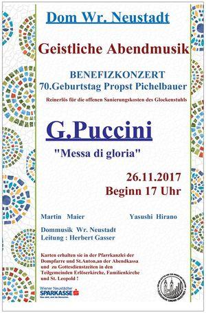 Geistliche Abendmusik - PUCCINI