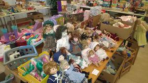 Spielzeugflohmarkt der Pfarre Hernals