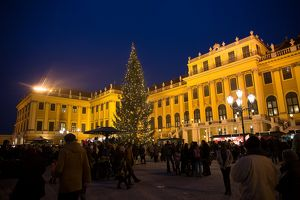 Kultur- und Weihnachtsmarkt und Neujahrsmarkt Schloß Schönbrunn