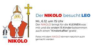 Der Nikolo besucht LEO