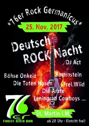 76er Rock Germanicus - DeutschRockNacht