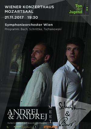 """""""Ton der Jugend"""" Symphonieorchester mit Andrei Korobeinikov und Andrej Vesel"""
