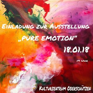 PURE EMOTION Ausstellungseröffnung Andrea Linzer