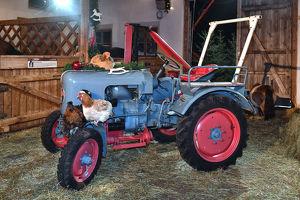 Oldtimer-Traktoren-Ausstellung Ab 17. März 2018