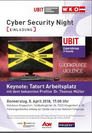 Cyber Security Night 2018