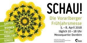 SCHAU!, die Vorarlberger Frühjahrsmesse