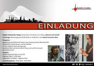 Vernissage der Ausstellung von Brigitte Lichtenhofer-Wagner