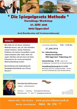 """ Die Spiegelgesetz Methode "" Workshop"
